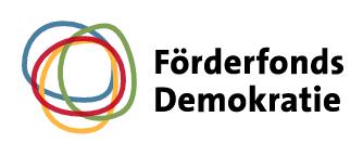 Logo vom Förderfonds Demokratie